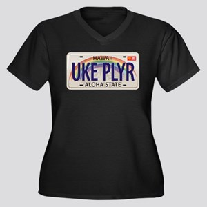 US Uke License Plate Plus Size T-Shirt