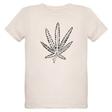 Slater Cannabis Leaf T-Shirt