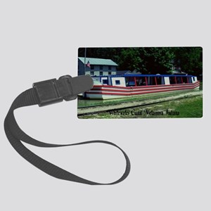 Whitewater Canal Large Luggage Tag