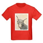 Doberman Pinscher Kids Dark T-Shirt