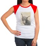 Doberman Pinscher Junior's Cap Sleeve T-Shirt