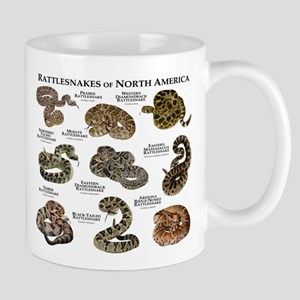 Rattlesnakes of North America Mug