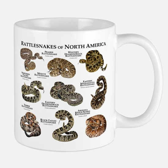Rattlesnakes of North America Mug