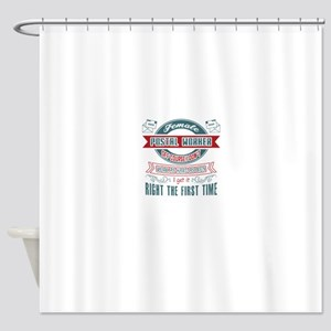 Postal Worker Jobs Shower Curtain