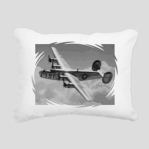 B-24 Liberator Rectangular Canvas Pillow