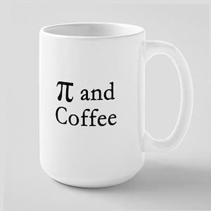 Pi and Coffee Large Mug