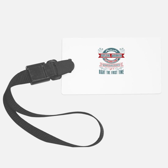 Postal Worker Jobs Luggage Tag