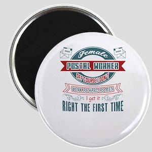 Postal Worker Jobs Magnets