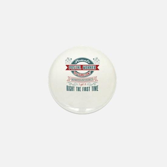 Postal Worker Jobs Mini Button
