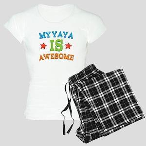 My Yaya Is awesome Women's Light Pajamas