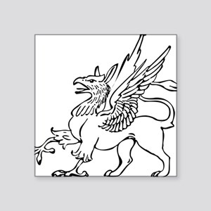 "Griffin Square Sticker 3"" x 3"""
