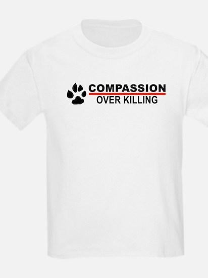 Compassion Over Killing Kids T-Shirt (white)