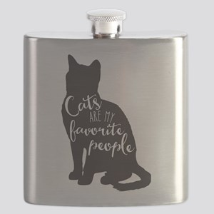 Cats are my favorite people Flask