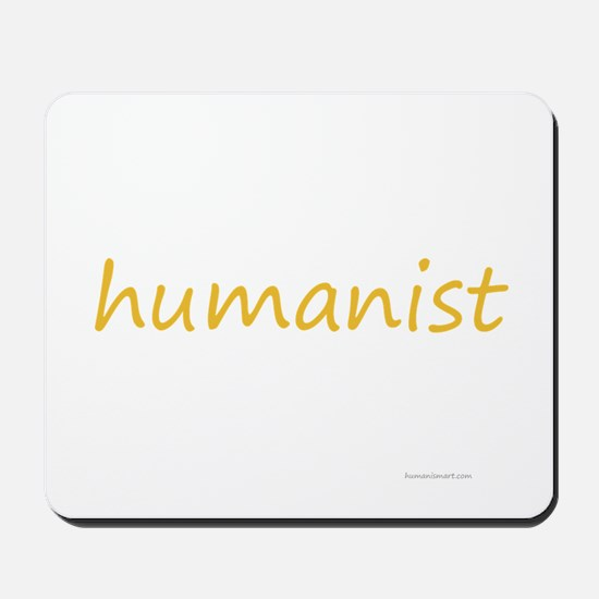 humanist Mousepad