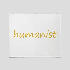 humanist Throw Blanket