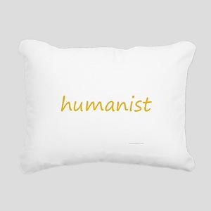 humanist Rectangular Canvas Pillow