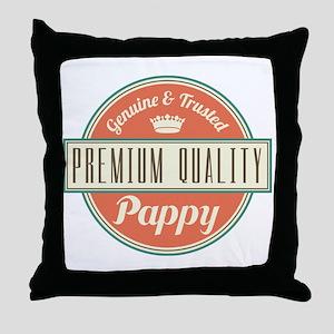 Vintage Pappy Throw Pillow