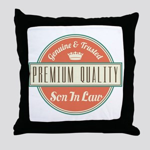 Vintage Son In Law Throw Pillow
