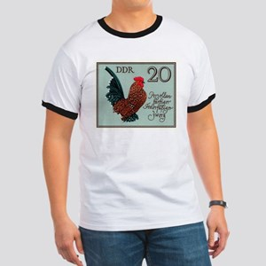 1979 Germany Bantam Rooster Postage Stamp T-Shirt