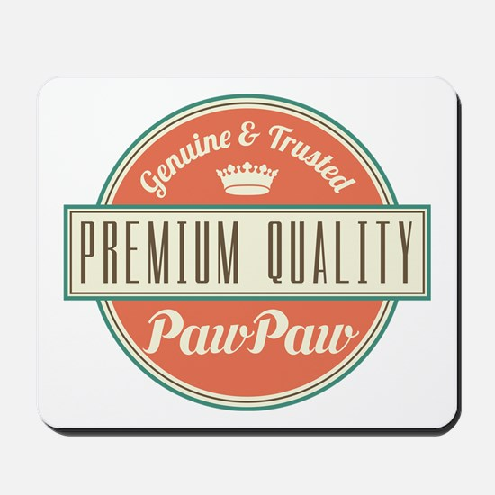 Vintage PawPaw Mousepad