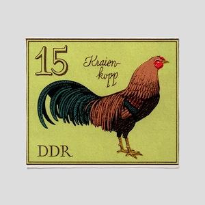 1979 Germany Kraienkopp Rooster Postage Stamp Thro