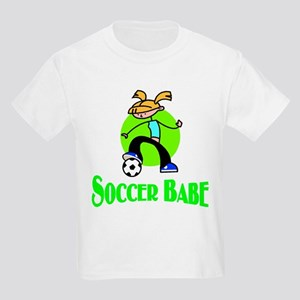Soccer Babe Kids T-Shirt