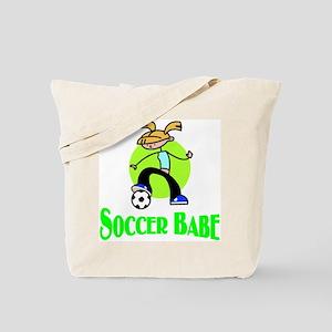 Soccer Babe Tote Bag