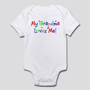 My Grandma Loves Me (des. #1) Infant Bodysuit