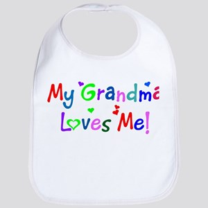 My Grandma Loves Me (des. #1) Bib