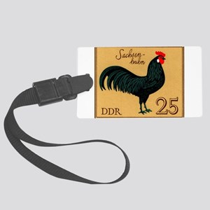 1979 Germany Saxonian Rooster Postage Stamp Luggag