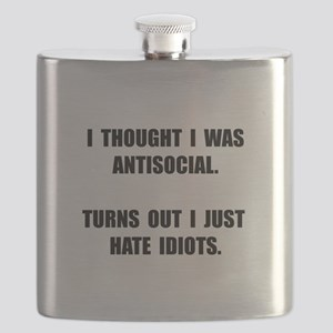 Antisocial Idiots Flask