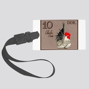 1979 Germany Chabo Rooster Postage Stamp Luggage T