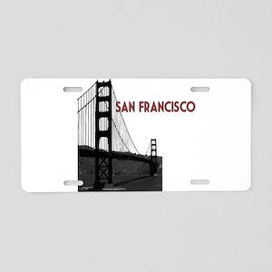 San Francisco Golden Gate Aluminum License Plate