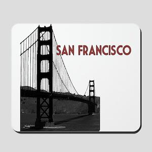 San Francisco Golden Gate Mousepad