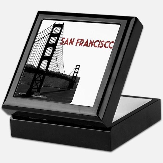 San Francisco Golden Gate Keepsake Box