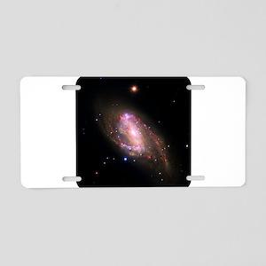 Space - Cosmos - Stars Aluminum License Plate