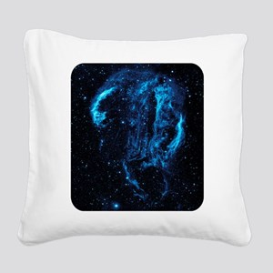 Outer Space - NASA - Science Square Canvas Pillow