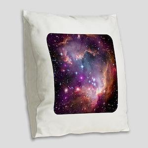 Outer Space - NASA - Science Burlap Throw Pillow