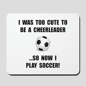 Cheerleader Soccer Mousepad