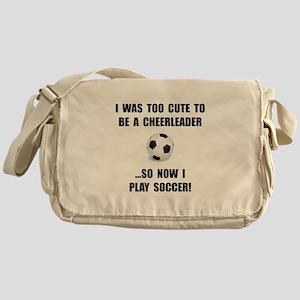 Cheerleader Soccer Messenger Bag