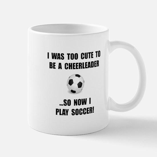 Cheerleader Soccer Mug