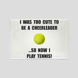 Cheerleader Tennis Rectangle Magnet (10 pack)