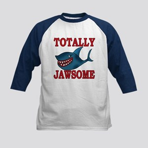Totally Jawsome Shark Kids Baseball Jersey