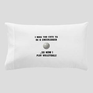 Cheerleader Volleyball Pillow Case