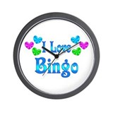 Bingo Wall Clocks