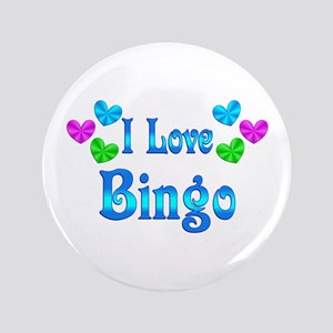 "I Love Bingo 3.5"" Button"