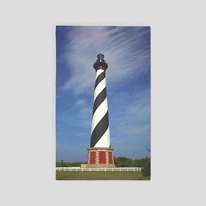 Cape Hatteras Lighthouse 3'x5' Area Rug