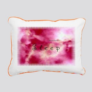Dream Sleep Rectangular Canvas Pillow