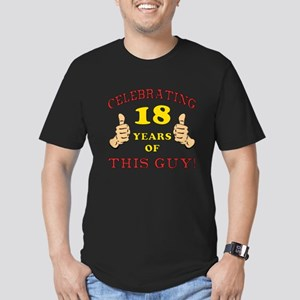 Funny 18th Birthday For Boys Men's Fitted T-Shirt