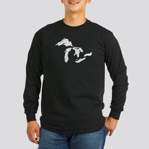 Great Lakes Long Sleeve Dark T-Shirt